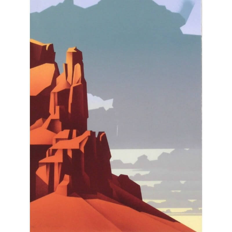 Ed Mell Red Rock Afternoon