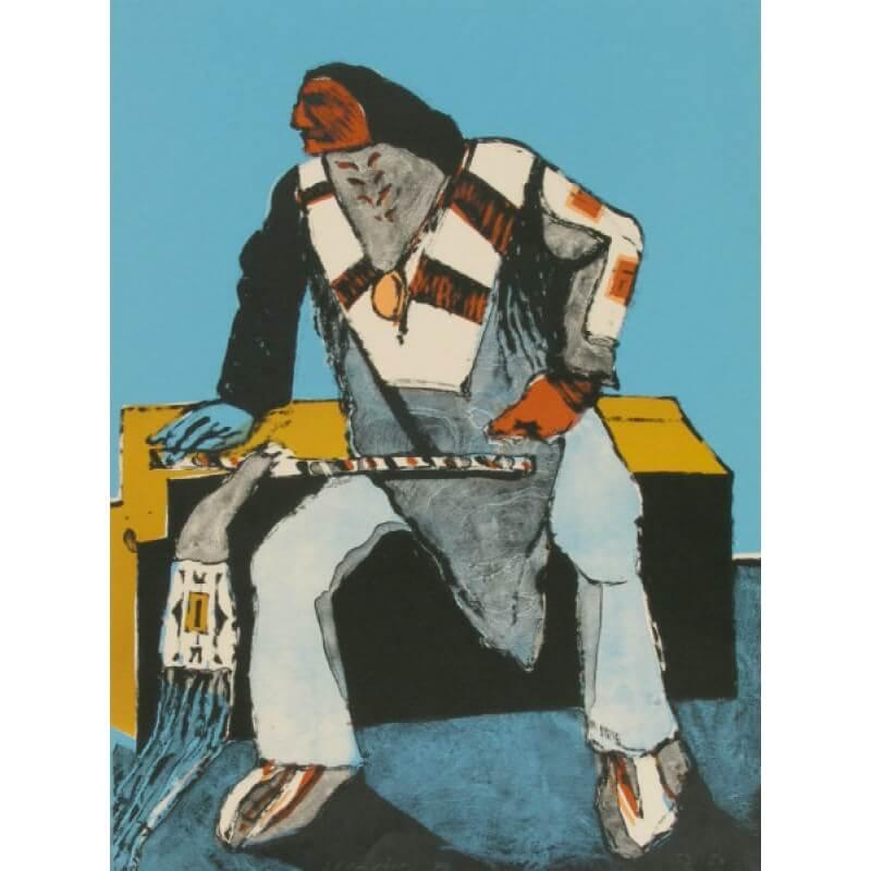 Fritz Scholder Another Deco Indian