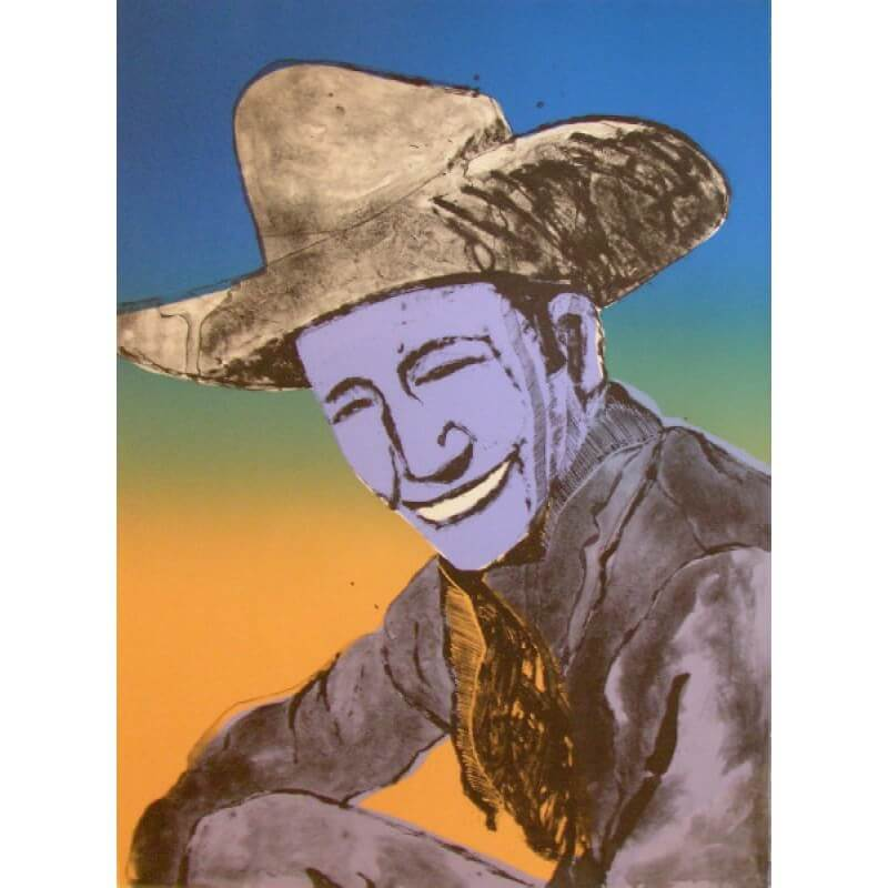 Fritz Scholder Happy Skies to You State I