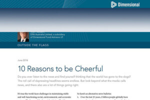 Ten Reasons to be Cheerful