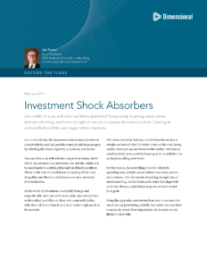 Investment Shock Absorbers